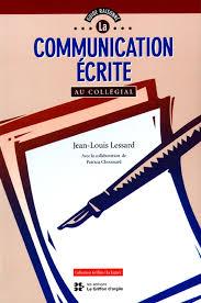 Communication ecrite