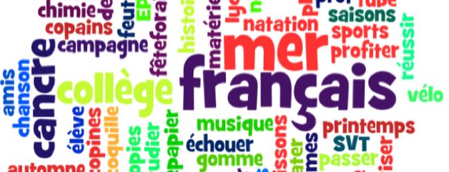 Majuscule mot francais